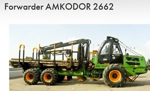 Forwarder Amkodor 2662