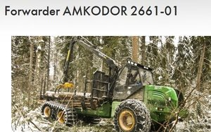 Forwarder Amkodor 2661-01