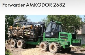 Forwarder Amkodor 2682