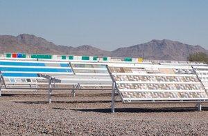 Testy lakierów ICA na pustynie w Arizonie