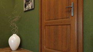 Renowacja drewnianych drzwi - Jak malować