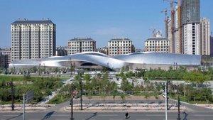 Chińskie Muzeum Rzeźby Drewnianej - Harbin