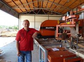 Janusz Olkusz opowiada o swoich doświadczeniach z trakami Wood Mozer