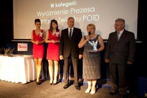 Wyróżnienie Prezesa Zarządu Związku POiD otrzymała Maria Waśkiewicz (WIMAR)