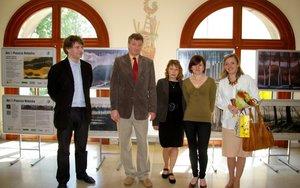Uroczyste zamknięcie wystawy w Collegium Cieszkowskich Starych