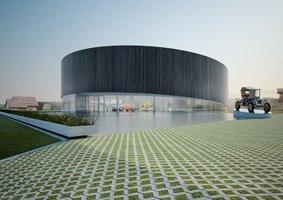 Pomorskie Muzeum Motoryzacji - praca finałowa projekt architektów z JK-A
