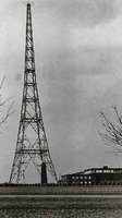 Wieża radiowa Mühlacker w 1935r.