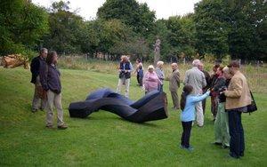 Wernisaż - Pławno 11.09.2013 r. - rzeźba - ROBERT HARDING - Wielka Brytania