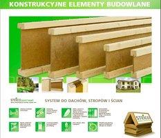 Konstrukcyjne elementy budowlane - naturalnie z drewna