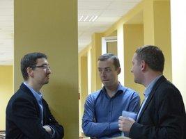 Dominik Jabłoński Drewno.pl, Przemysław Bieńkowski Stelmet, Dariusz Rutkowski Forest Consulting Center