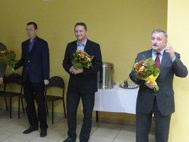 Przemysław Bieńkowski Stelmet, Dariusz Rutkowski Forest Consulting Center, Dziekan Wydziału Leśnego UP prof. Roman Gornowicz