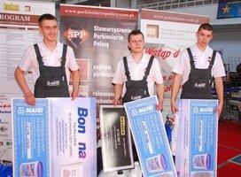 Tegoroczni laureaci mistrzostw (od lewej) Daniel Szylar, Michała Łuka oraz Michał Kwietniewski.