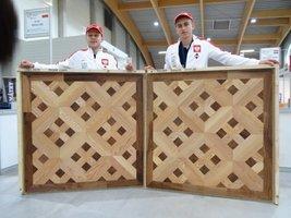 Dawid Szylar i Michał Łuka na podium Mistrzostw Europy Młodych Parkieciarzy
