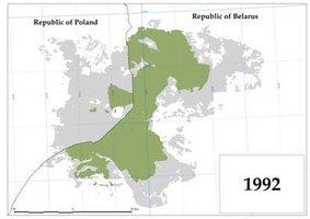 Obszar Puszczy Białowieskiej jako Obiekt Światowego Dziedzictwa UNESCO - 1992