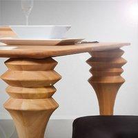 Stół z buku twardzielowego