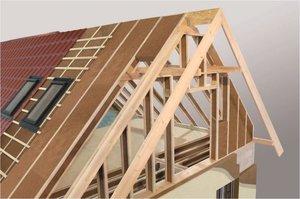 Dach modelowy wykonany z produktów STEICO
