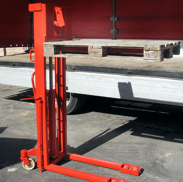 Wózek paletowy ręczny wys podnoszenia 1,4 m