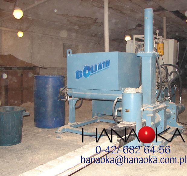 Brykieciarka 250 kg/h - forma kostki RUF
