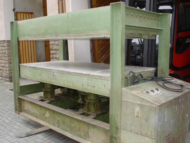 Prasa hydrauliczna pulkowa BUTFERING -220 x 110cm