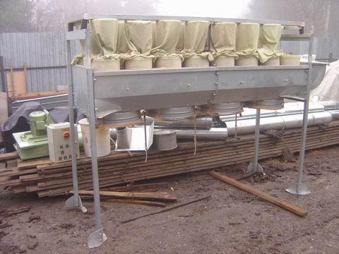#529 Ściana wyciągowa workowa Schuko