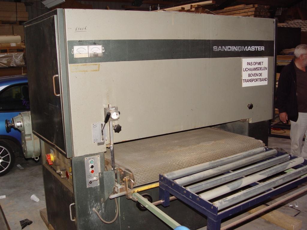 Szlifierka szerokotasmowa SANDINGMASTER 1300mm