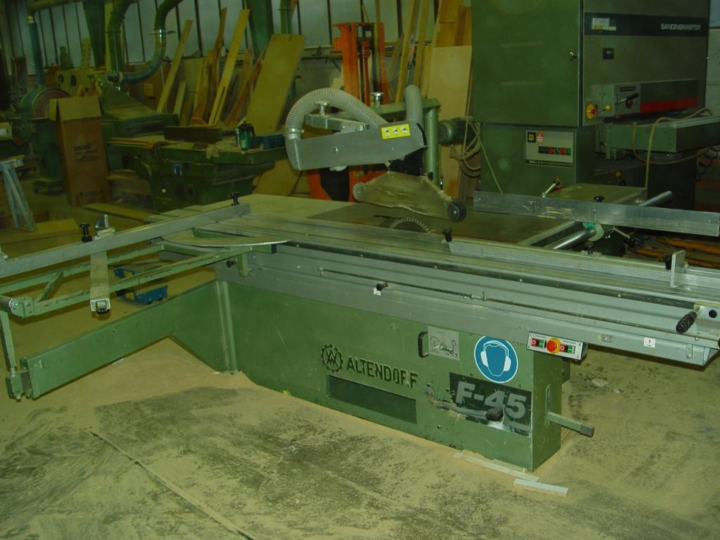 Pila formatowa ALTENDORF F45 z podcinakiem