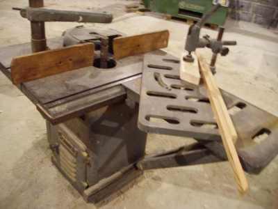Frezarka COMAG z wózkiem do czopowania