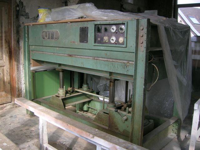 Prasa pulkowa OTT 220 x 120cm -hydrauliczna