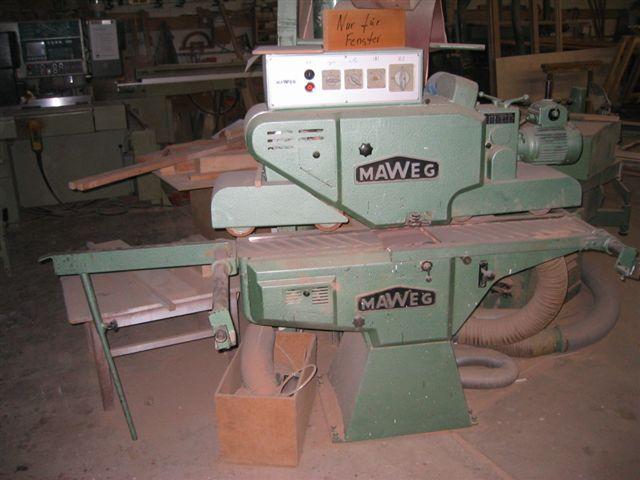 Szlifierka przelotowa MAWEG SE 200mm - gora-dol