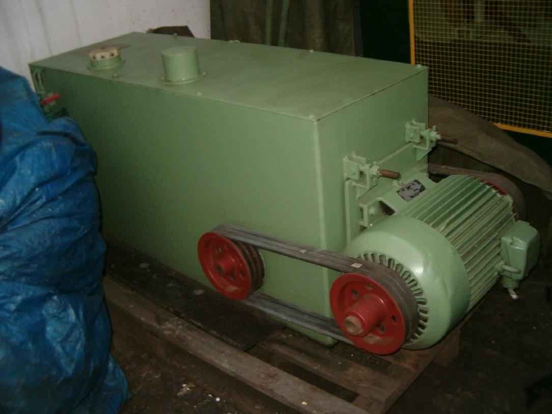 Agregat do prasy hydraulicznej o max. ciśn. 475 T.