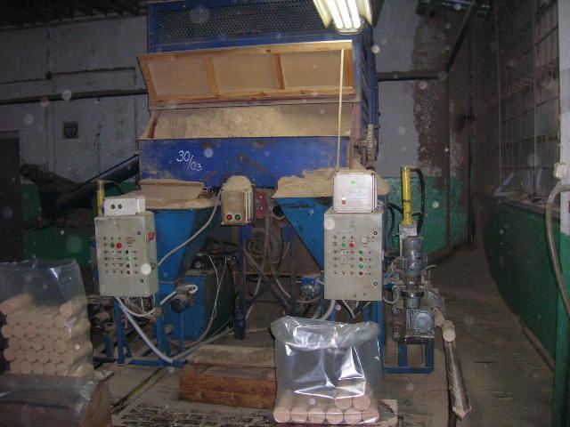 Brykieciarnia, linia produkcyjna, brykieciarki