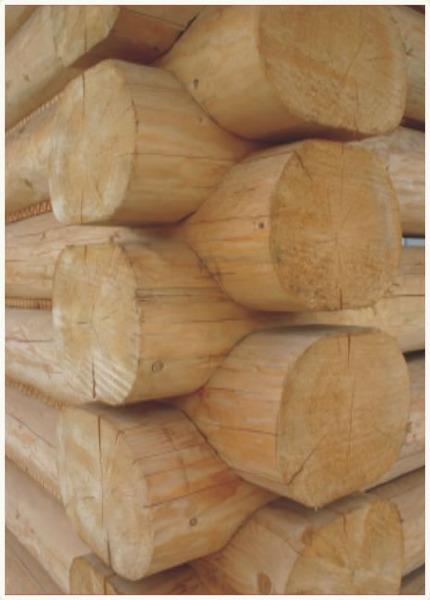 płazy bale drewniane świerkowe