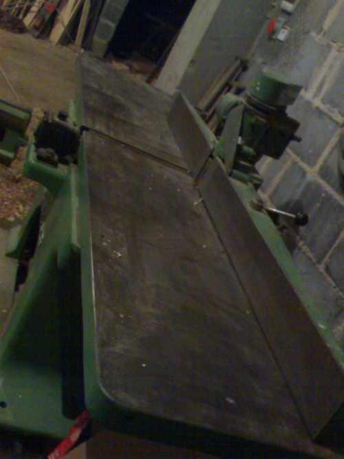 Wyrówniarka 50cm z bocznym strugiem 10cm