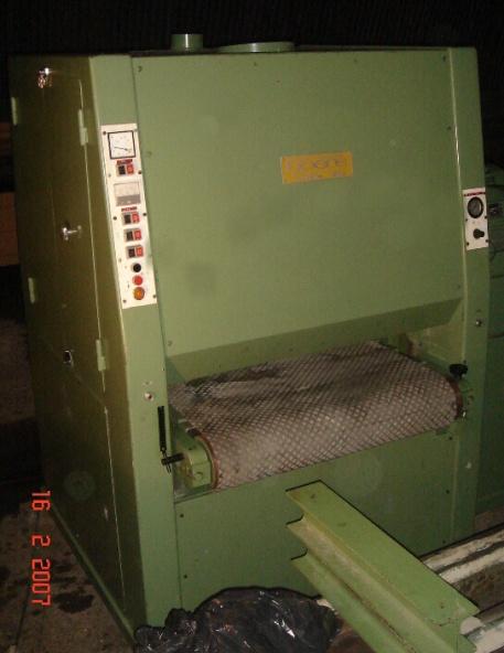 Szlifierka szerokotaśmowa 2 agregaty BOERE 900