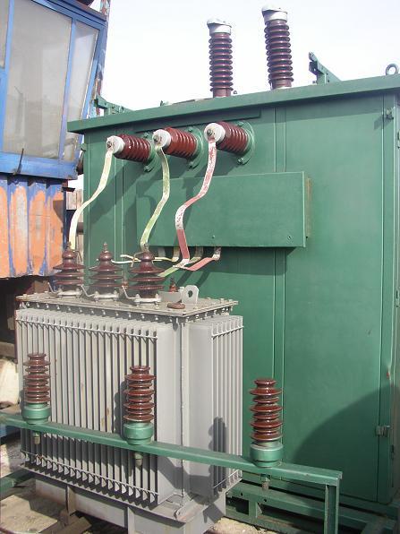 stacja transformatorowa z transformatorem ELTA 160