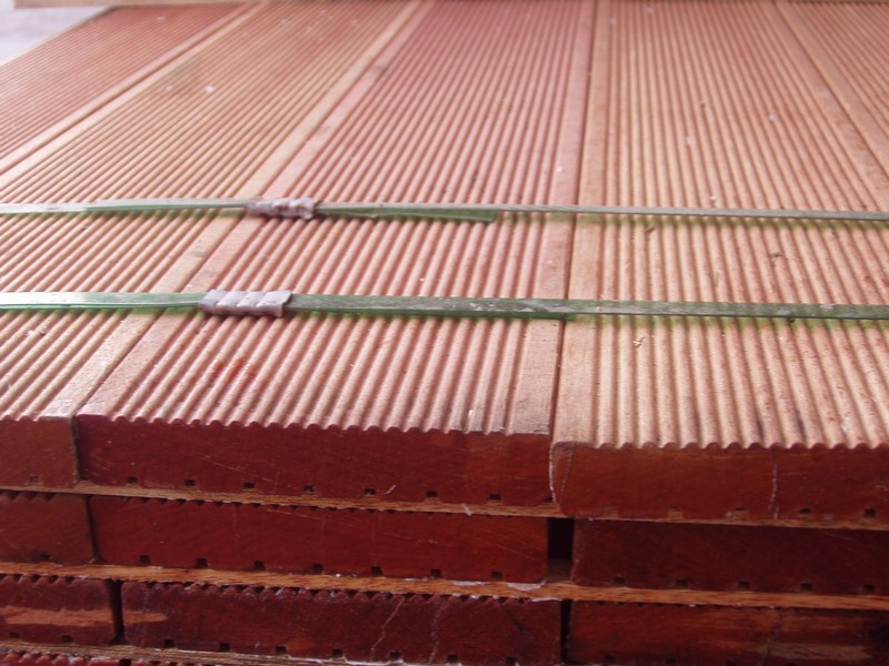 Deski tarasowe ryflowane Kapur/Bankirai