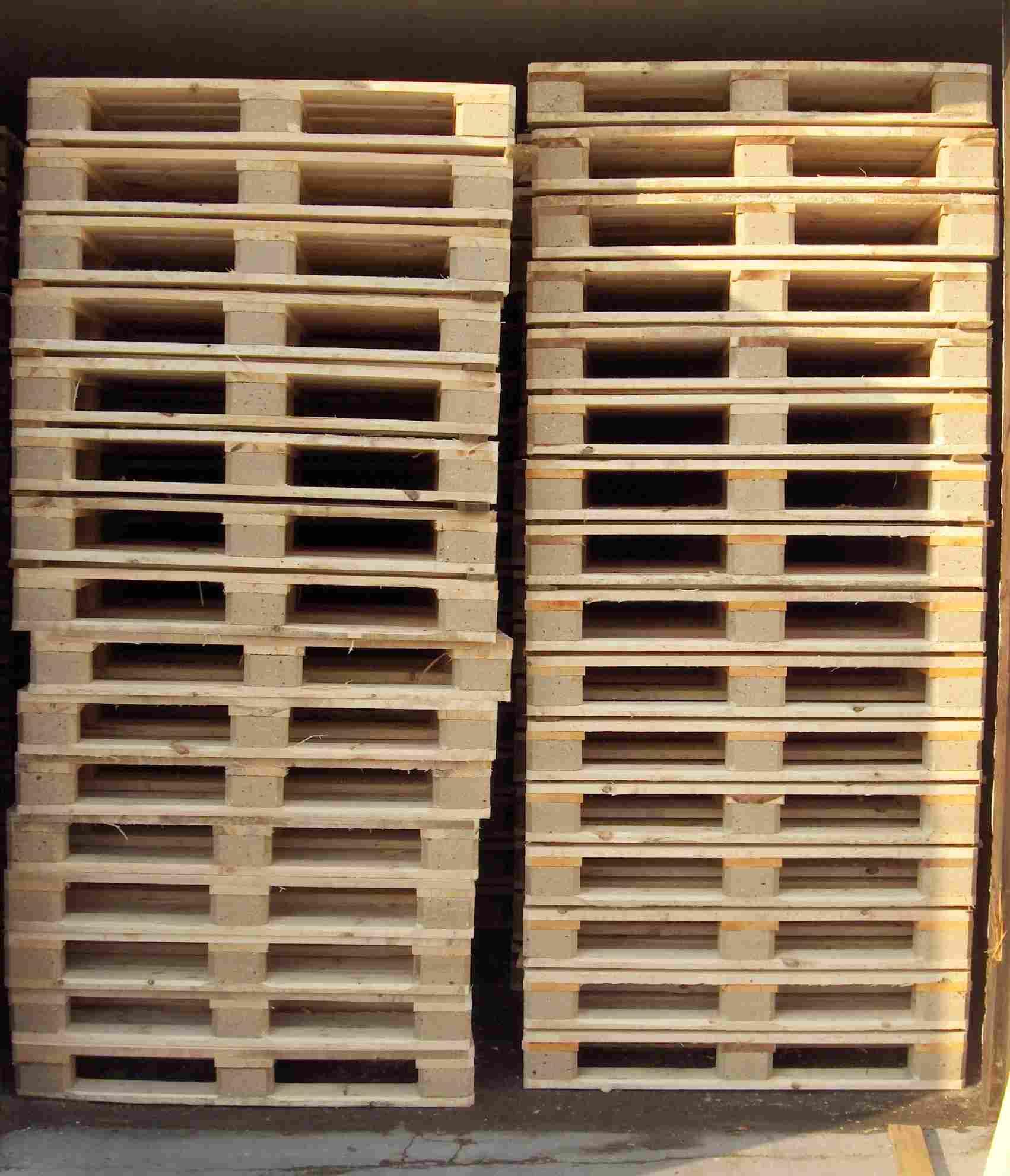 Obróbka termiczna drewna wg ISMP 15