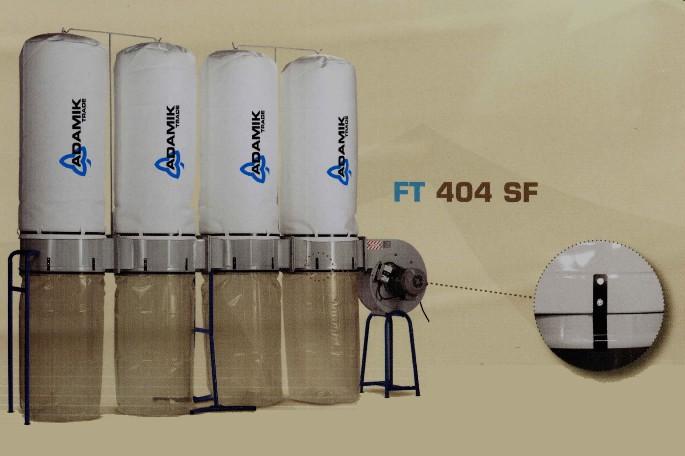 Odpylacz do trocin profesjonalny FT 404 SF !!!