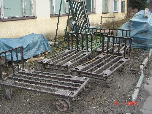 Wózki transportowe do suszarni