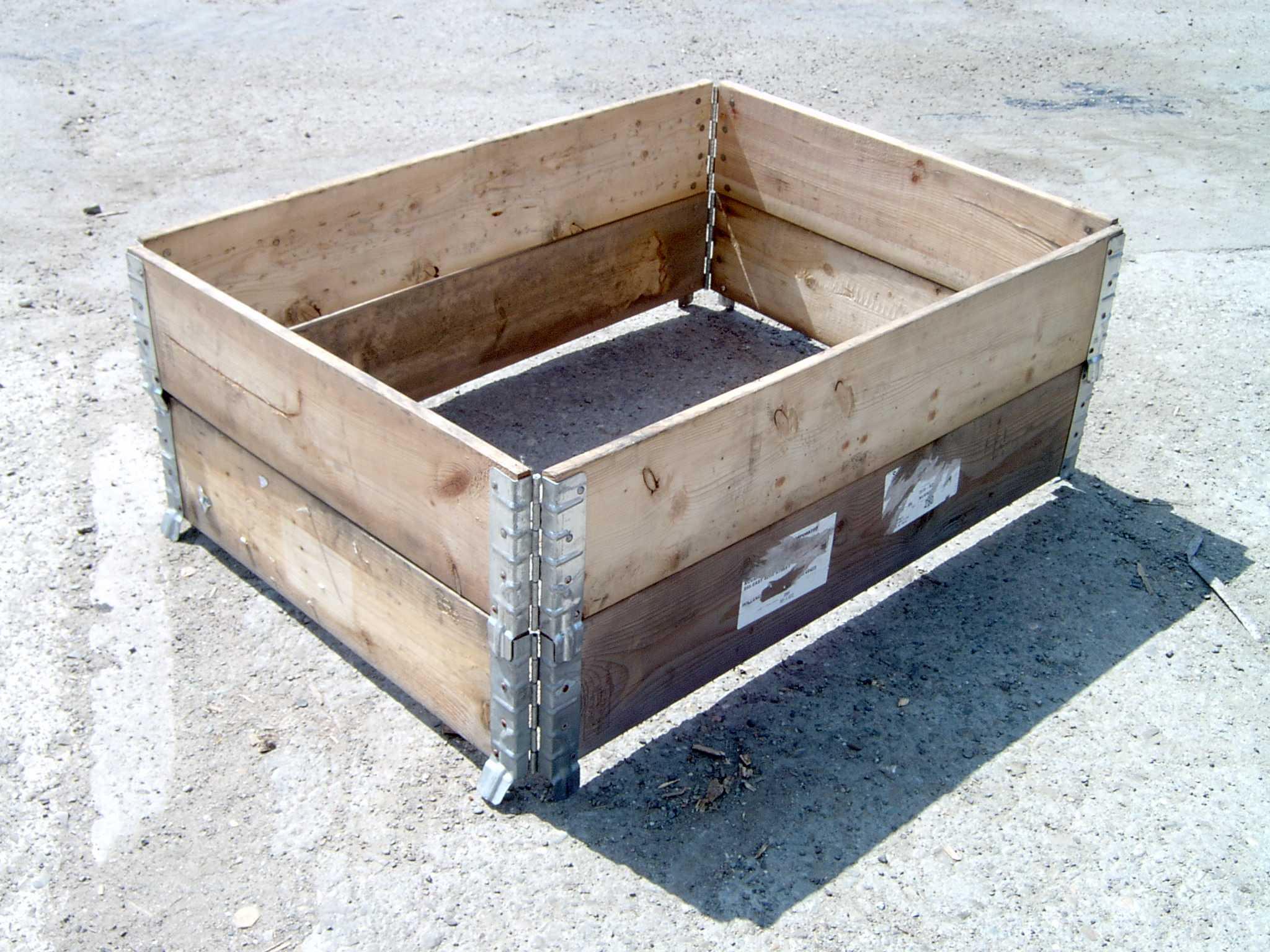 Nadstawki drewniane na palety 1100x800