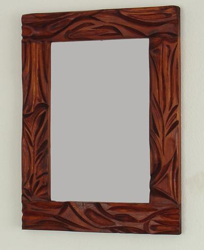 lustra , ręcznie zdobione, lite drewno