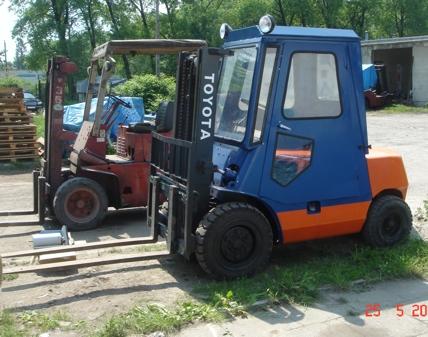 Wózek Widłowy TOYOTA 3,5 T !!!