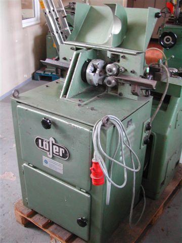 # Automat tokarski do produkcji kołków firmy Löser
