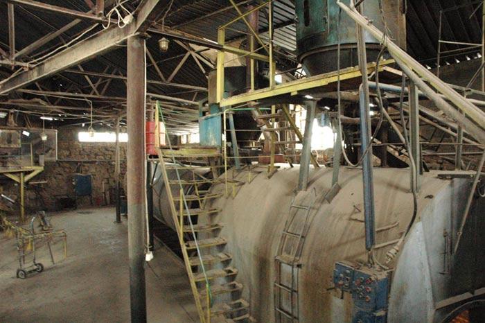 Kompletna linia suszarnicza do produkcji brykietu