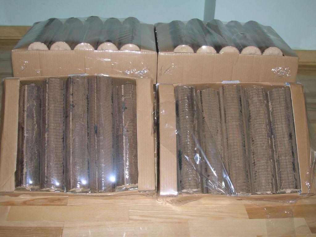 brykiet kominkowy walec 6 cm