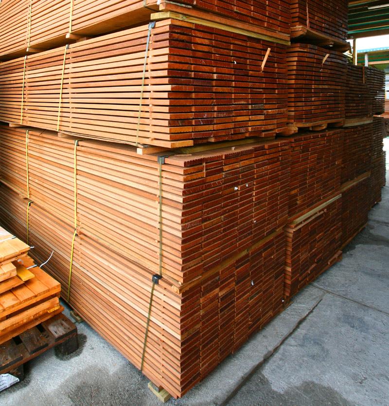 Egzotyczna Deska Tarasowa z drewna Bangkirai 145*2