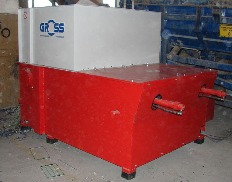 Rozdrabniacz GROSS - do 2000 kg/h - nowy okazyjnie