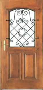 Drzwi drewniane domy dvere