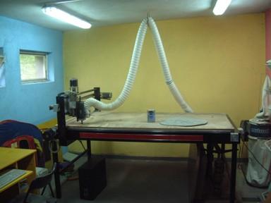 Frezarka CNC trzy osiowa XYZ