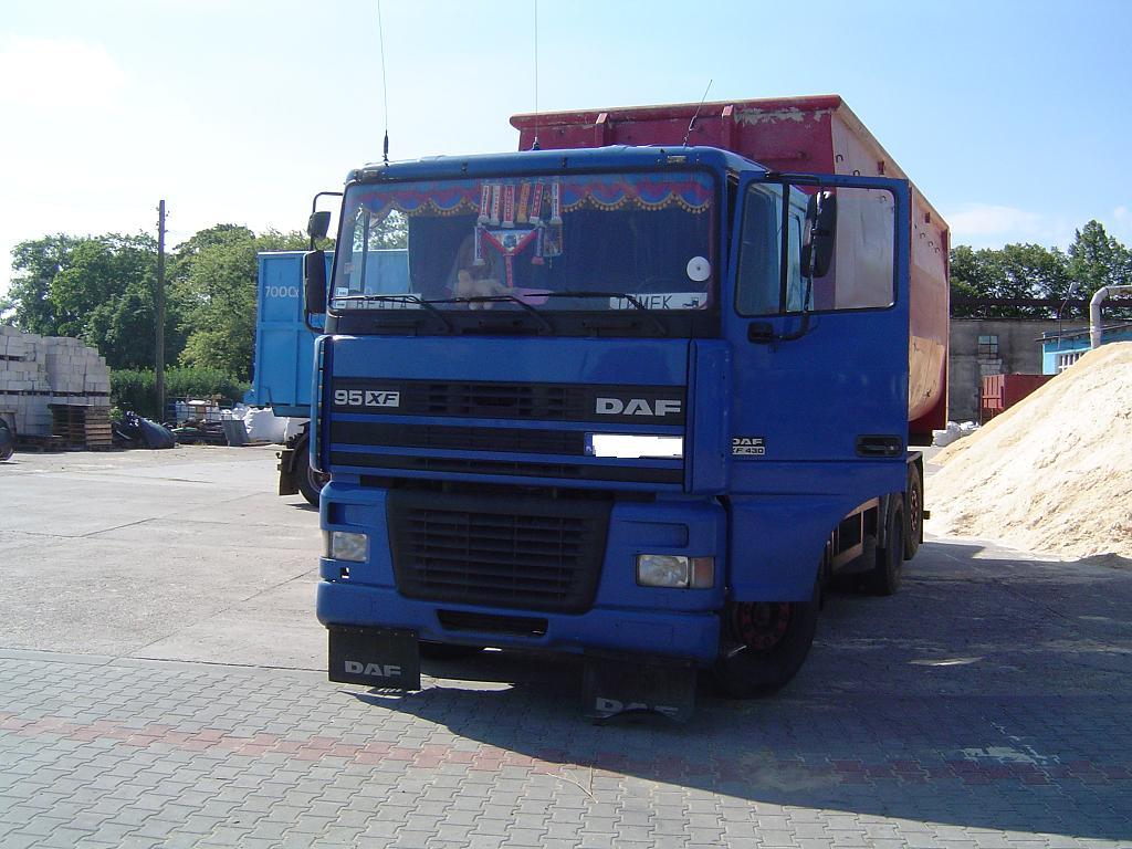 DAF XF95 Hakowiec